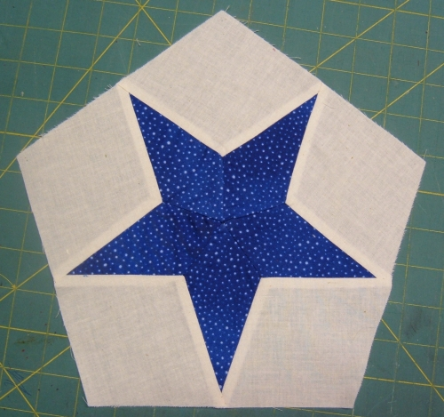 5 Pointed Star Hexagon Epilog Laser Cut And Engraved Quilt